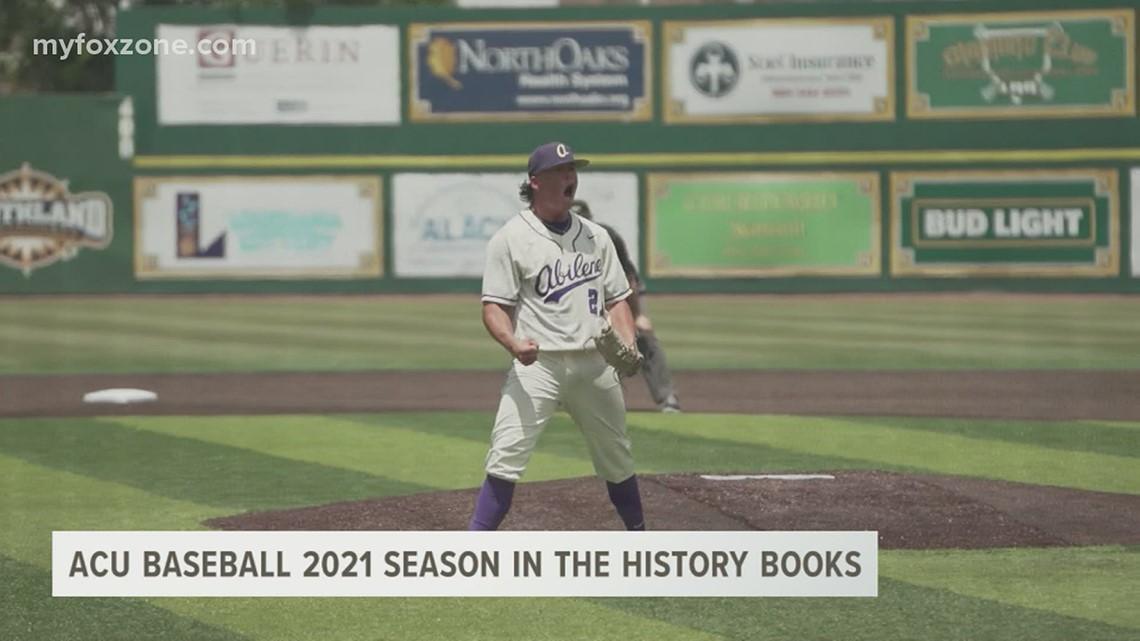Abilene Christian baseball team caps off 2021 season with broken records