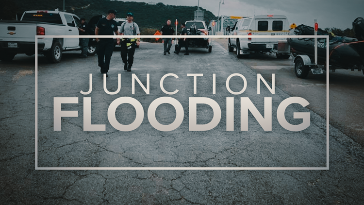 Two bodies were found Thursday afternoon nine miles downstream from a Junction RV park that flooded late last weekend.
