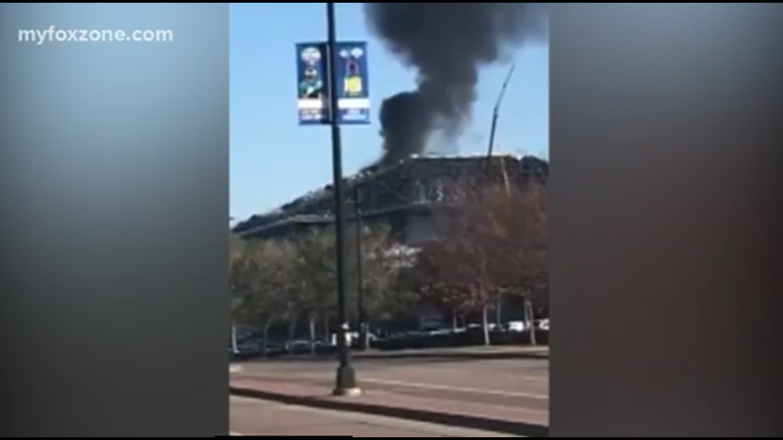 Fire breaks out at Rangers' new stadium