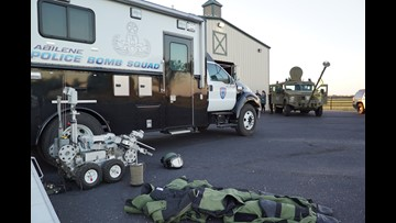APD Bomb Squad and SWAT receives 85k