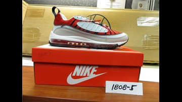 Smugglers try to sneak 9K pairs of fake Nikes in from China