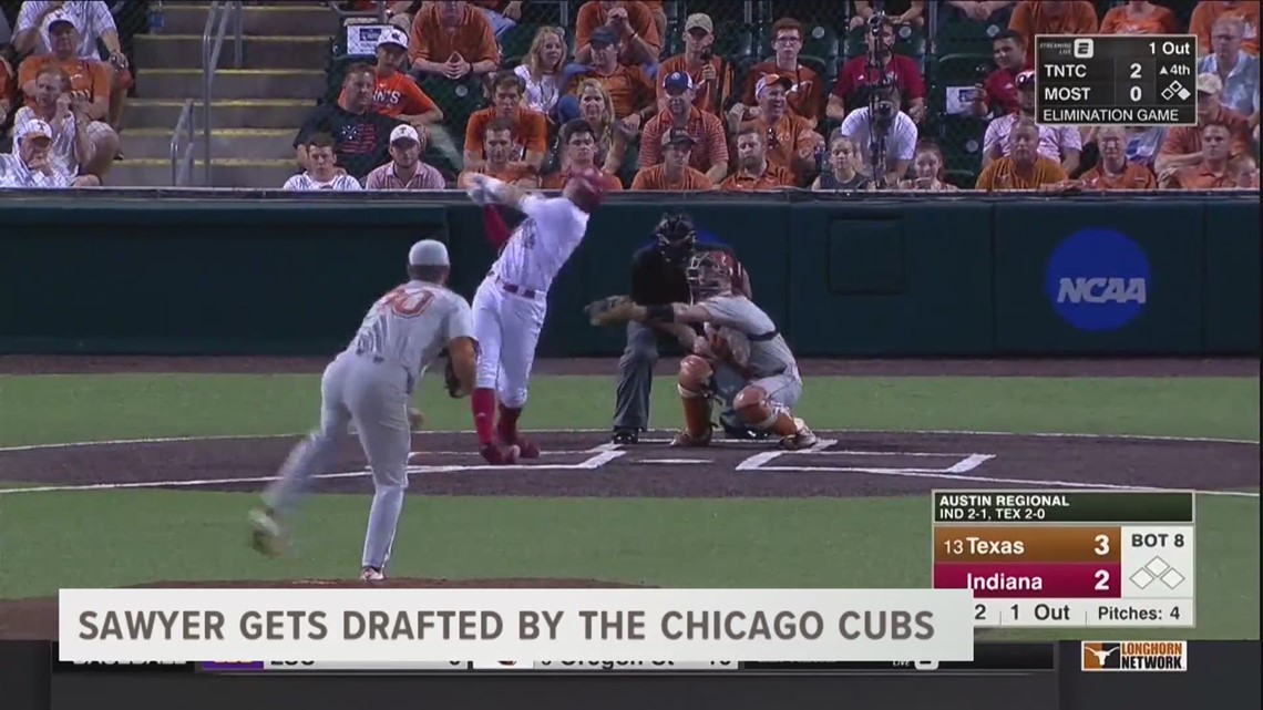 Sawyer Gets Drafted By The Chicago Cubs