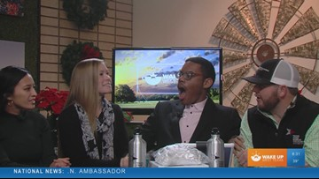 The Wake Up West Texas team gets a surprise!