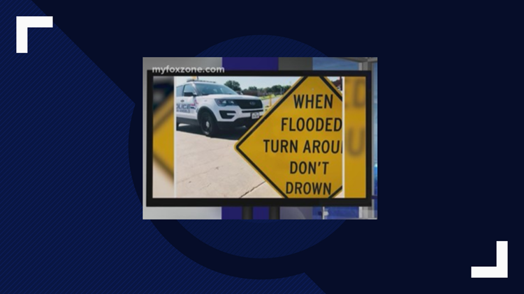 When significant rain falls, remember to 'Turn Around, Don't Drown'