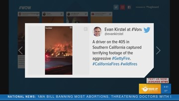 WOW: Wildfires in California