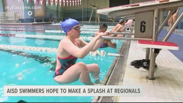 AISD swimmmers hope to make a splash at Regionals