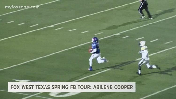 Abilene Cooper spring football overview
