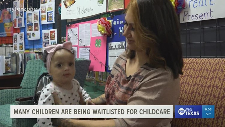 Finding childcare continues to be a struggle for parents in West Texas communities