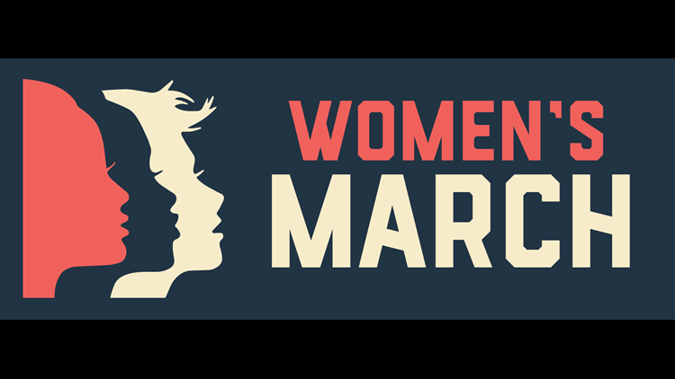 San Angelo women holding  march protesting the Texas abortion law