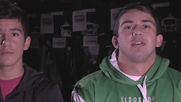 Two brothers on the Eldorado football team make a winning combo for the Eagles