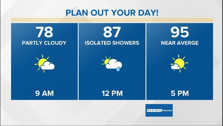 Hourly planner Friday