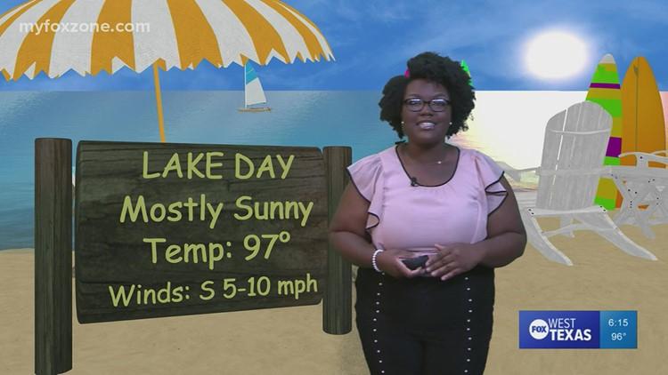 Friday evening forecast July 30, 2021