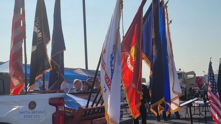 American Legion Post 572 hosts Patriot Day ceremony Saturday morning
