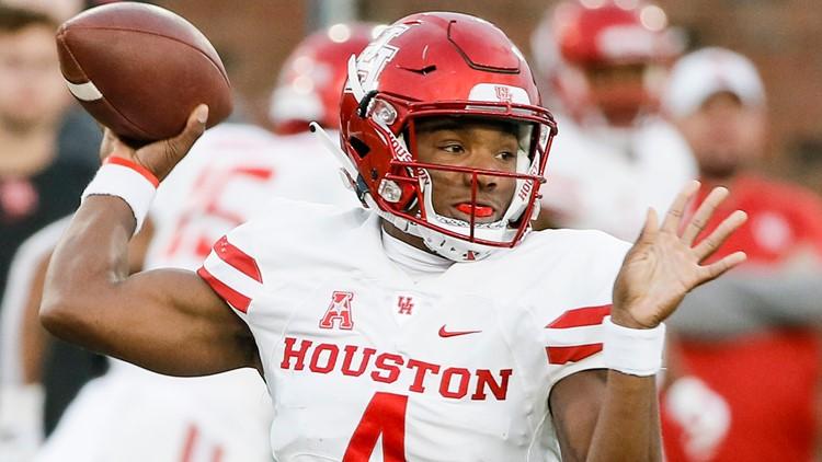 Houston quarterback D'Eriq King
