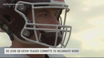 De Leon QB Kevin Yeager commits to Incarnate Word