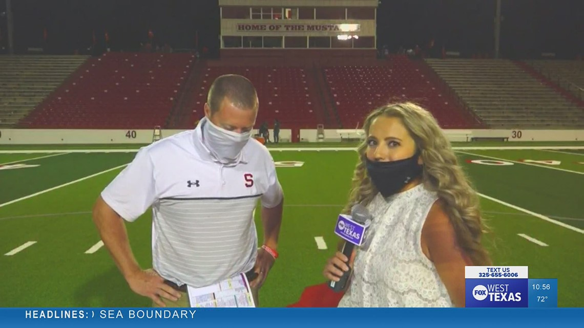 Ben McGehee reflects on Sweetwater's win over Clyde with Casey Buscher