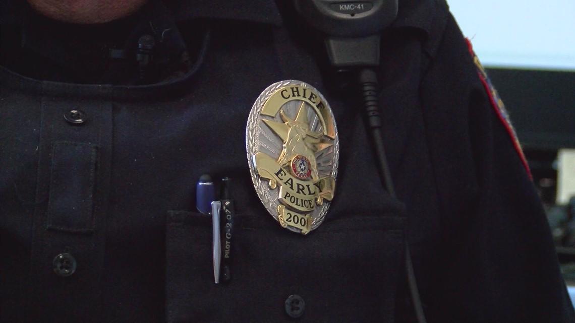 El Senado de Texas reconoce a un policia de Early por sus esfuerzos en salvar una vida.