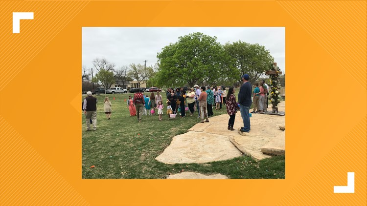 San Angelo residents celebrate Easter Sunday with worship services, family gatherings