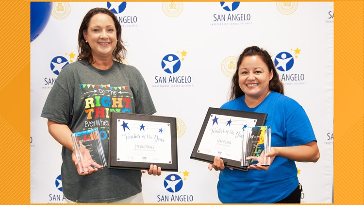 San Angelo ISD announces Teachers of the Year