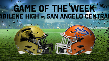 GAME OF THE WEEK: Abilene High travels to San Angelo Central this Friday