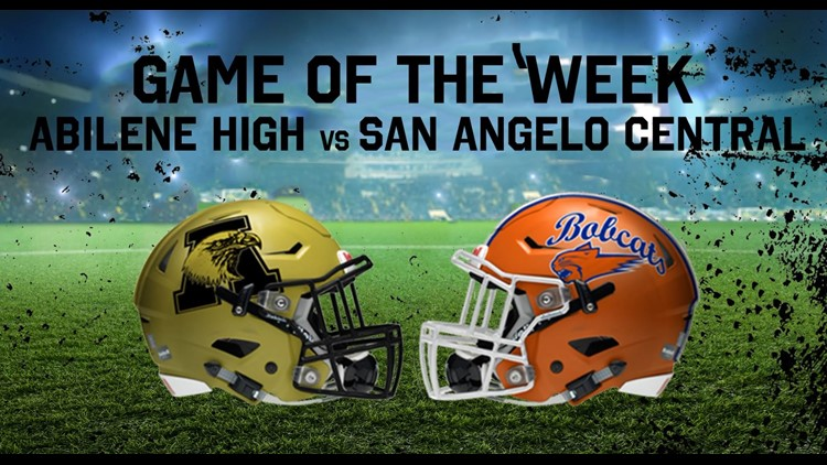 FOX Football Game of Week 7 - Abilene Eagles vs. Central Bobcats