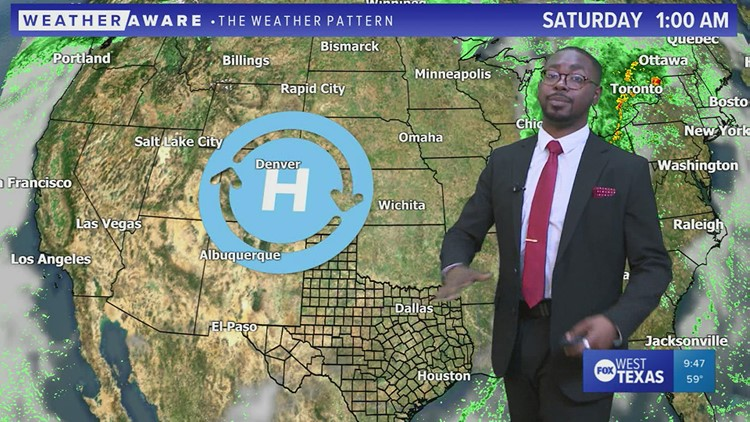 Wednesday night forecast 10/13/21 @9p