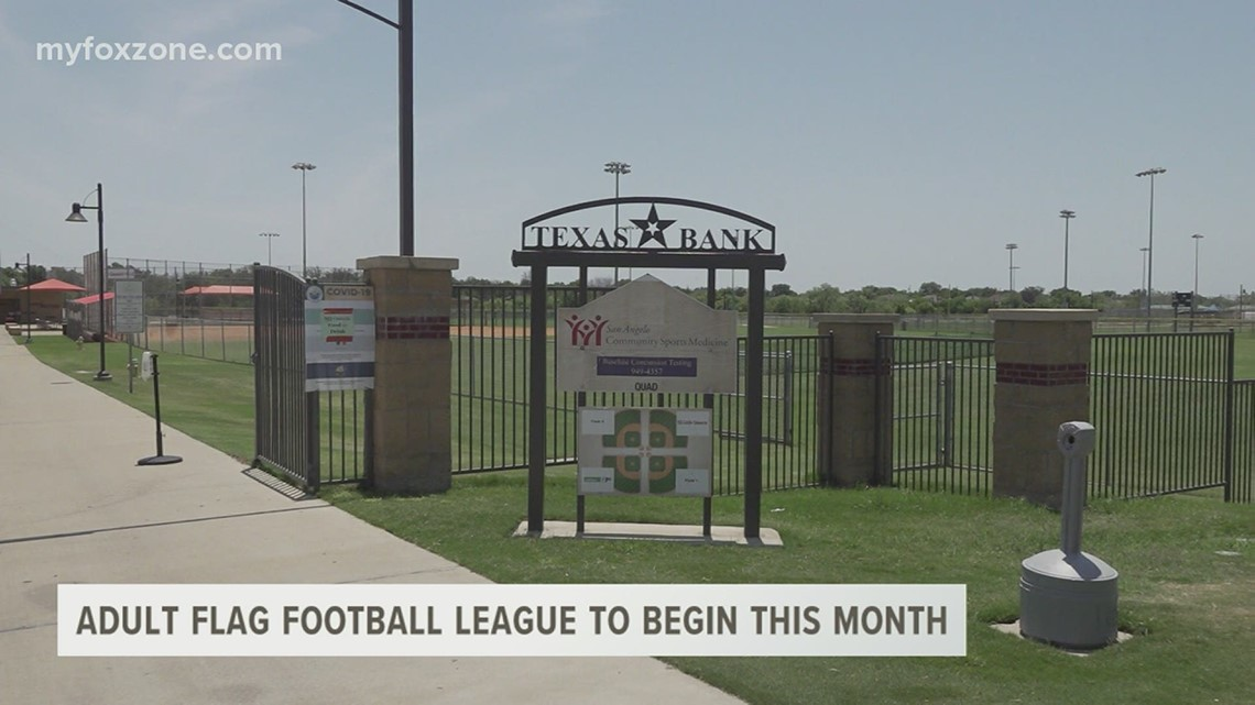 San Angelo Parks and Recreation resurrects adult flag football league after a 10-year hiatus