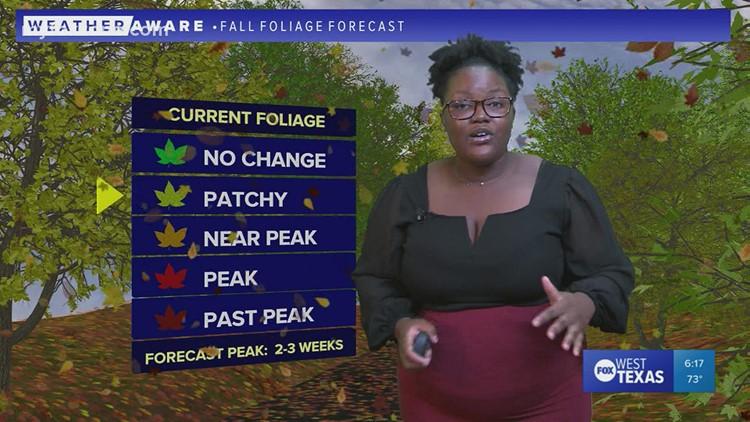 Monday evening forecast October 18, 2021