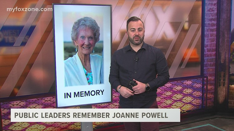 Congressman August Pfluger and former Congressman Mike Conaway remember Joanne Powell