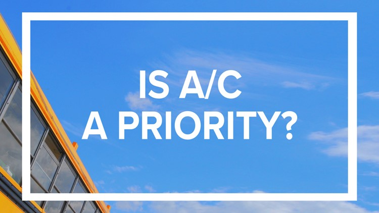 Do you think A/C on buses is a priority?