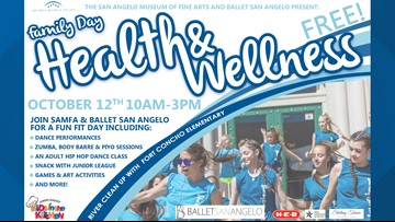 SAMFA partners with Ballet San Angelo for Family Day Health & Wellness