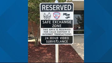 San Angelo PD offers safe exchange zone for child custody, online exchanges