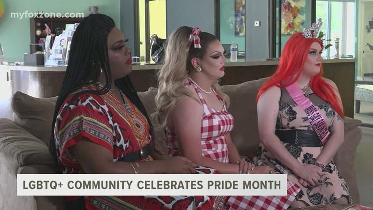 The San Angelo LGBTQ+ community celebrates pride month