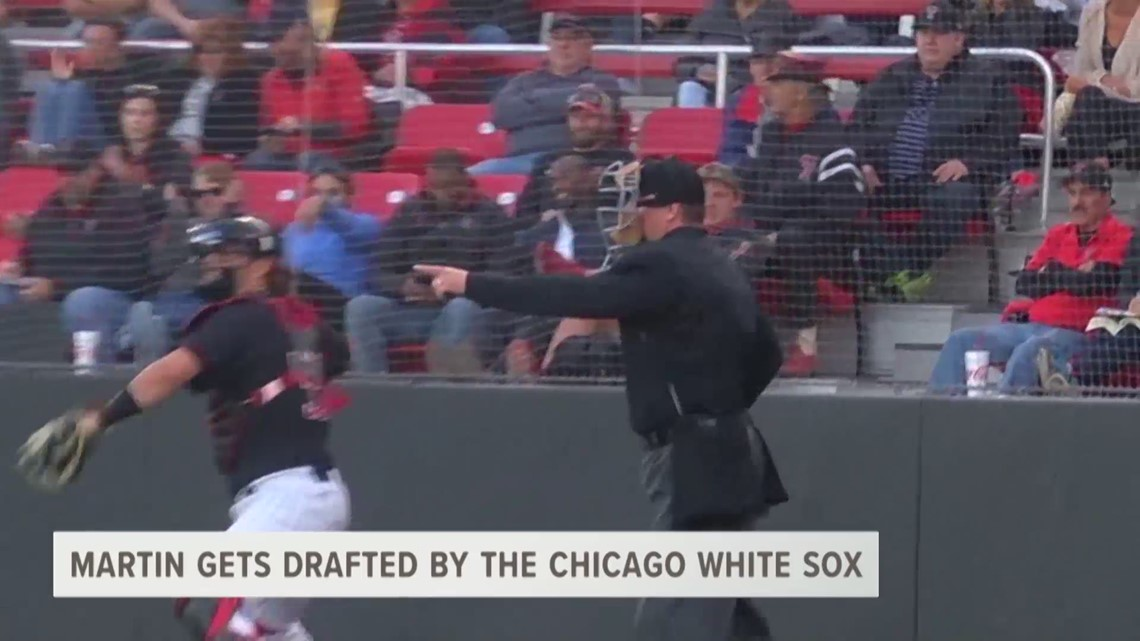 Martin Gets Drafted By Chicago White Sox