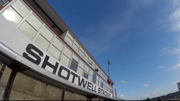 Attendance down at Shotwell Stadium