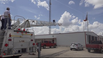 Wall VFD now has an aerial ladder truck to help fight fires