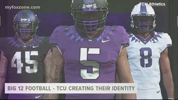 Big 12 football media day - TCU Horned Frogs