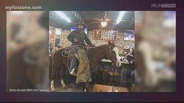 Texas Always & Forever: A horse walks into a bar...