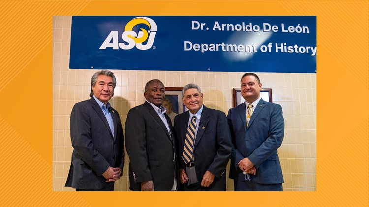 Angelo State re-names Department of History in honor of Professor Emeritus