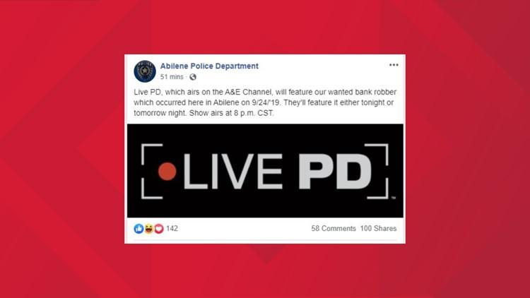 Live PD APD post