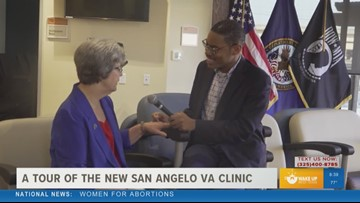 Tour the new San Angelo VA outpatient clinic
