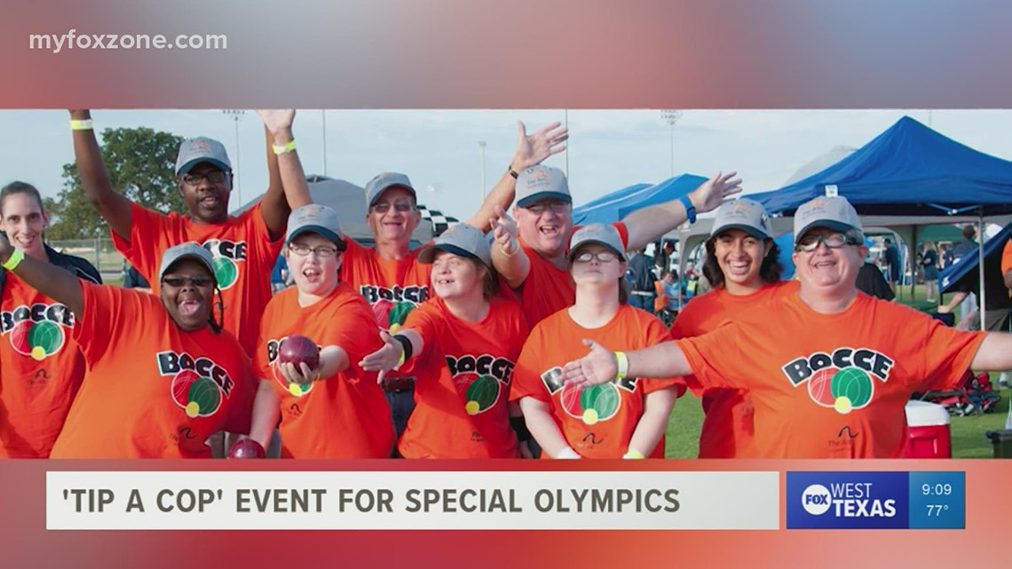 West Texas law enforcement agencies join forces to raise money for the Special Olympics