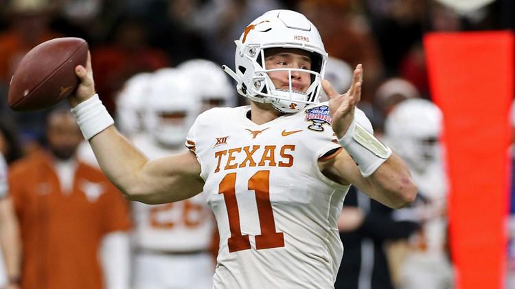 Texas quarterback Sam Ehlinger