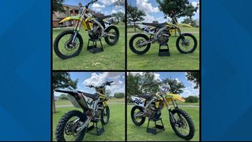 TGCSO seeking information on stolen dirt bike
