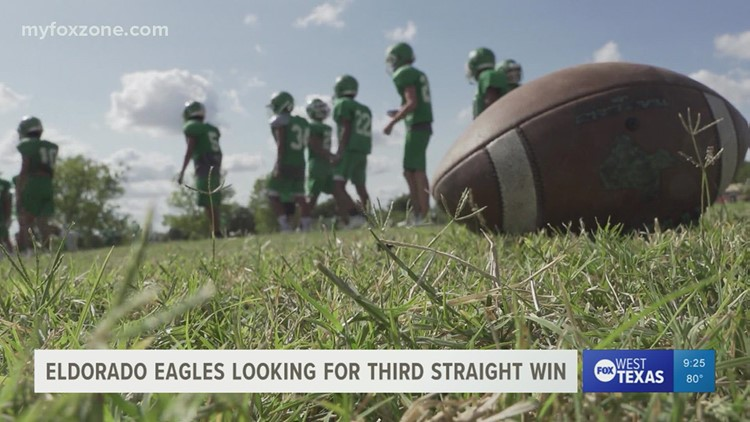 The Eldorado Eagles are looking to go 3-0 after facing Wink Friday night