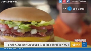 It's official: Whataburger is better than In-N-Out