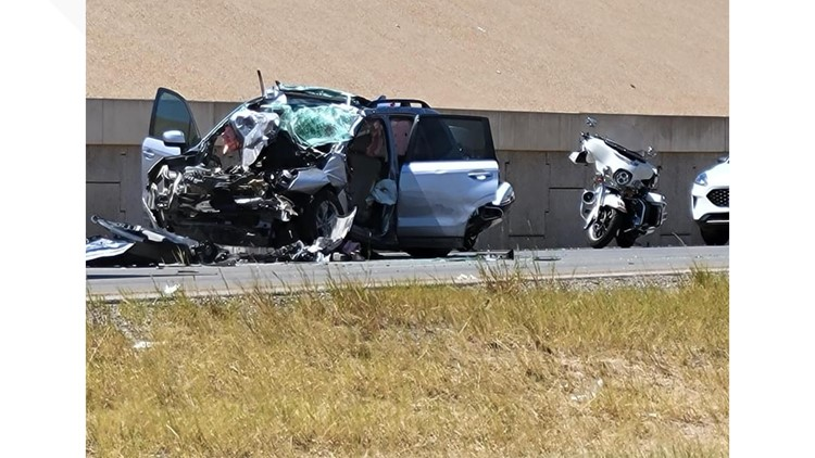 One injured after SUV rear-ends 18-wheeler