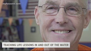 Teaching life lessons in and out of the water