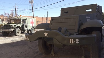 12th Armored Division Memorial Museum restoring WWII Half Track