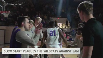 Slow start plagues the Wildcats